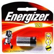 Baterija ENERGIZER CR123 3V