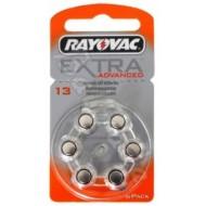 Baterije za slušni aparat RAYOVAC Extra 13 6/1