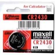 Baterija MAXELL CR2430