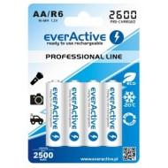 Baterije EVERACTIVE AA/HR6 4/1 2600 professional line