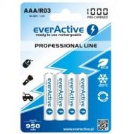 Baterije EVERACTIVE AAA/HR03 4/1 1000 professional line