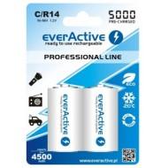 Baterije EVERACTIVE C/HR14 2/1 5000 professional line