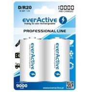 Baterije EVERACTIVE D/HR20 2/1 10000 professional line