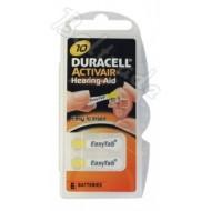Baterije za slušni aparat DURACELL 10 6/1