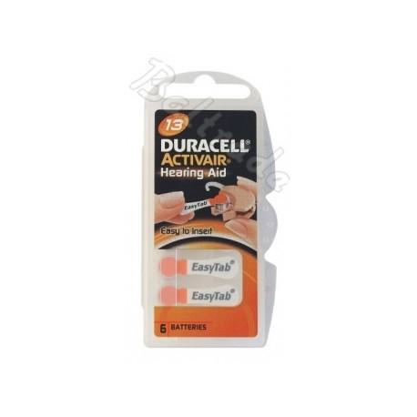 Baterije za slušni aparat DURACELL 13 6/1