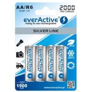 Baterije EVERACTIVE AA/HR6 4/1 2000 silver line