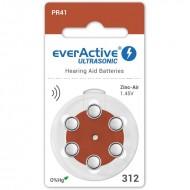 Baterije za slušni aparat EVERACTIVE 312 6/1