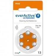 Baterije za slušni aparat EVERACTIVE 13 6/1