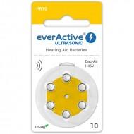 Baterije za slušni aparat EVERACTIVE 10 6/1
